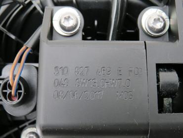510827469E Original Rückfahrkamera Klappmechanismus Emblem VW Golf Sportsvan – Bild 3