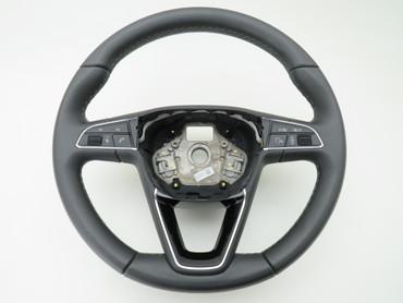 575419091 Original Lenkrad Multifunktion Leder hellgrau blau Seat Ateca – Bild 2