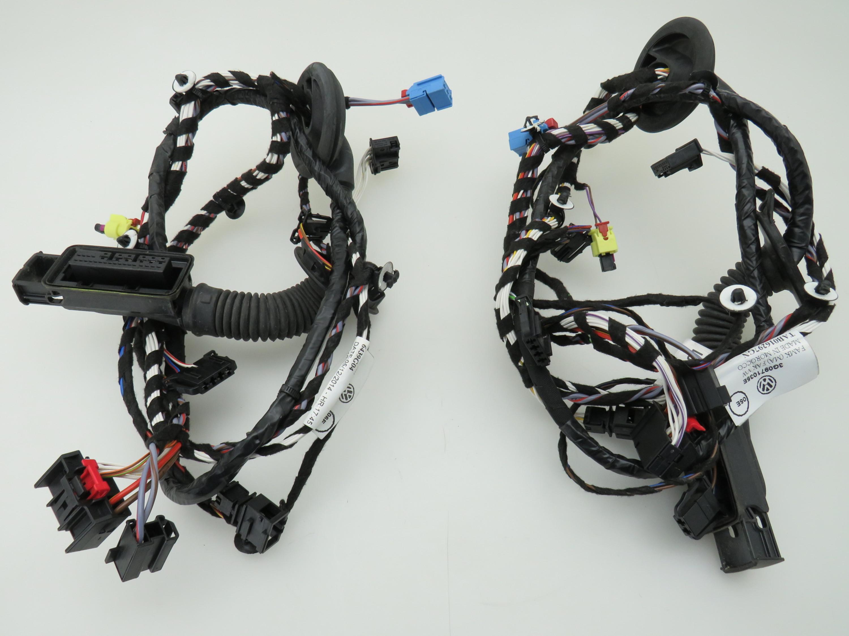 Door Wiring Harness Left Right Front Ambient Lighting Vw Passat B8 Phaeton Wire Lights 3 G