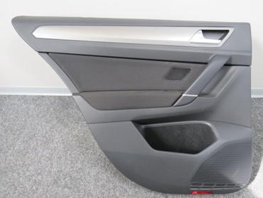 510867211L Türverkleidung hinten links VW Golf Sportsvan Stoff anthrazit – Bild 1