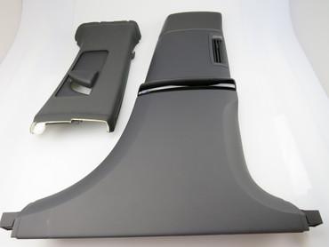 Original Verkleidung B-Säule rechts oben + unten schwarz Phaeton Exclusive – Bild 1