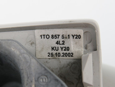 1T0857511 Y20 Original Innenspiegel Rückpiegel innen grau VW Touran 1T – Bild 3