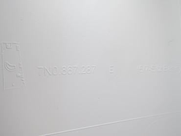 Org. Verkleidung C-Säule links hinten grau VW Sharan 7N 188 km – Bild 2