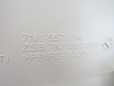 Original Handschuhfach beige VW Sharan 7N Kühlung 7N1857114 – Bild 4