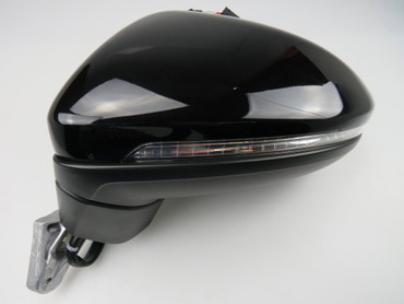 Genuine VW Touran 5T 2016 model side mirror left side power folding LED RHD – Bild 1