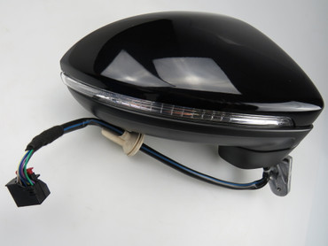 Genuine VW Touran 5T 2016 model side mirror right side power folding LED RHD – Bild 2