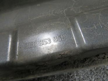 Original Audi A4 Avant B7 s-line Seitenschweller links LY7G quarzgrau metallic – Bild 5