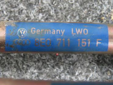 Original Schaltgestänge Schaltkulisse Audi A4 8E B7  8E0711151F   8E0711271F – Bild 3