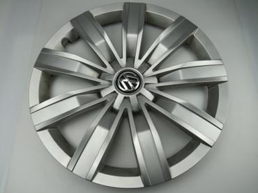 5NA601147 Radkappe silber Chrom 17 Zoll Original 1 Stück VW Tiguan AD 5NA II – Bild 1