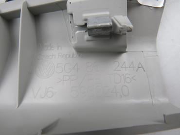 5G4867244A Original Verkleidung B-Säulenverkleidung rechts grau VW Golf 7 VII – Bild 3