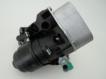 03N115389K Original Ölkühlerflansch mit Ölkühler TDi Diesel VW Touran II 5T – Bild 1
