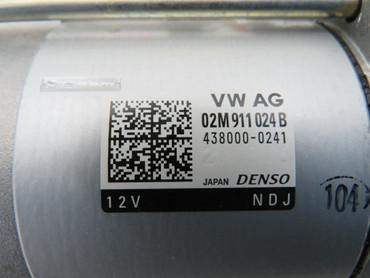 02M911024B Original Anlasser 2,0KW 2,0 TDi Diesel Start-Stopp VW Touran II 5T – Bild 3