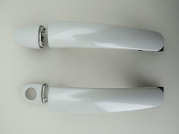 5N0837205M Original Türgriff links und rechts Paar L0K1 Oryxweiss VW Tiguan 5N – Bild 1