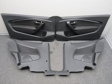 Original Türverkleidungen Set Seitenverkleidungen titanschwarz VW Polo 6C GTI – Bild 1