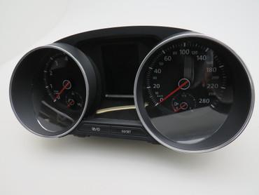 6C0920746A Original Tacho Kombiinstrument Chrom 280km/h Benzin VW Polo 6C GTI – Bild 3