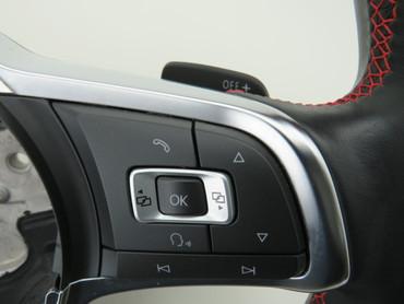 6C0419091Q Original Lederlenkrad Tempomat Sportlenkrad VW Polo 6C GTI Tiptronic – Bild 6