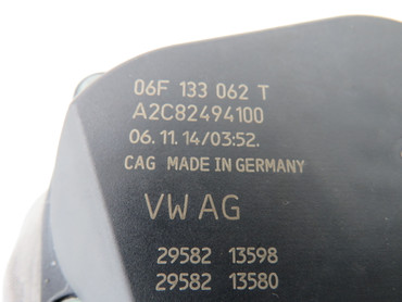 06F133062T Original Drosselklappe 1,8 2,0 TSi VW Golf 7 VII Passat 3G B8 Polo 6C – Bild 3