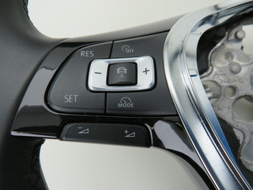 5G0419091DJ Original Lederlenkrad Multifunktion MFL VW Golf 7 VII Passat 3G B8 – Bild 5