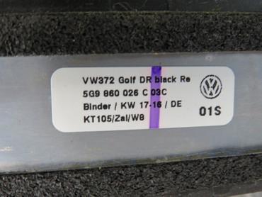 5G9860026C Original Dachreling schwarz Dachträger Träger VW Golf 7 VII Variant – Bild 7