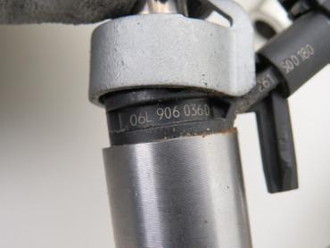4x Einspritzdüse Rail Kabelbaum 2.0 Tsi CUL VW Golf 7 VII GTI  Scirocco 13 – Bild 3