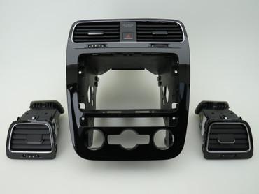 VW Scirocco 138 Facelift Dekor Set schwarz glänzend Klimaautomatik – Bild 1