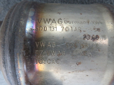 5Q0254504JX Original Katalysator Kat 1,5 TSi DACA Benziner VW Golf 7 VII ab 2017 – Bild 4