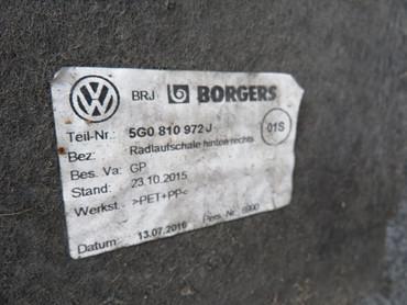 5G0810971E Original Radhausschalen hinten links rechts Paar VW Golf 7 VII – Bild 2