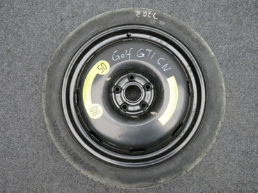 "Notrad Ersatzrad Reserverad 18"" Zoll VW Arteon Passat 3G B8 Golf 7 VII Scirocco – Bild 1"