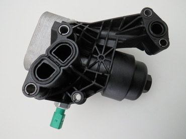 03N115389A Original Ölfiltergehäuse mit Ölkühler 2,0 TDi VW Tiguan II AD1 5NA – Bild 1