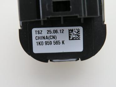 1K4959857B Original Fensterheberschalter Set schwarz VW Golf 6 VI Passat 3C B6 – Bild 4
