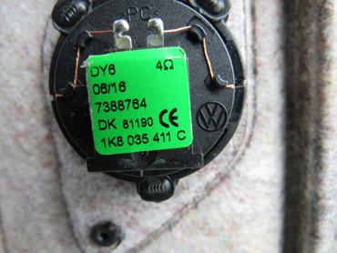 510867211AH Original Türverkleidungen Set Leder schwarz beige VW Golf Sportsvan – Bild 10