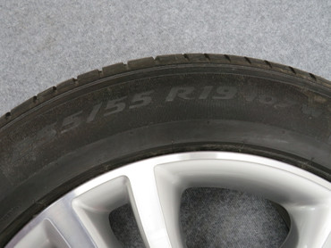 5N0601025G Original Komplettrad Savannah 255/55 R19 VW Tiguan 5N Pirelli Silber – Bild 4