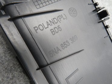 5NA853369 Original Einstiegsleisten mit Ambiente schwarz VW Tiguan II 5NA AD1 – Bild 6