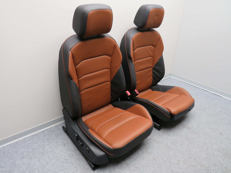 ledersitze fahrersitz beifahrersitz leder schwarz braun. Black Bedroom Furniture Sets. Home Design Ideas