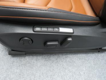 Ledersitze Fahrersitz Beifahrersitz Leder schwarz braun elektrisch VW Arteon – Bild 6