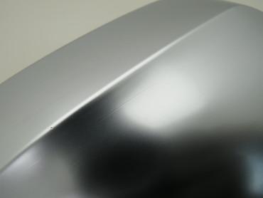 3G0857538E Orig Spiegelkappe rechts aluminium Totwinkelwarner VW Passat 3G B8 – Bild 3