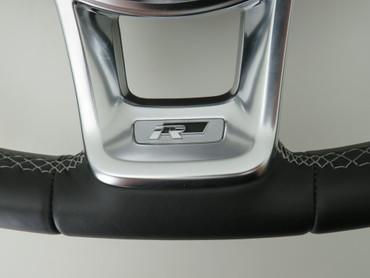 5G0419091JG Original Leder Lenkrad Multifunktion R-Line VW Tiguan AD1 Golf 7 VII – Bild 3