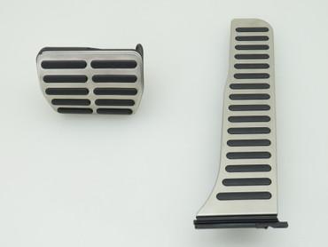Pedalkappen Bremspedal Gaspedal Edelstahl original DSG VW Scirocco 13 – Bild 1