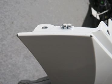Original Stoßstange Frontstoßstange vorne LC9A purewhite R-Line VW Arteon – Bild 10