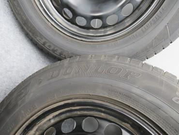 7N0601027E Original Kompletträder Stahl Dunlop Grandtrek Allwetter 215/65 R16 – Bild 4