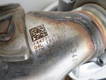 04L131512D AGR-Kühler Regelklappe DPF 1,6 2,0 TDI VW Passat B8 Tiguan AD1 5NA – Bild 3