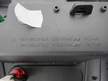 5M1863487B Original Ablagefach Mittelkonsole Fach ESP Schalter VW Tiguan 5N – Bild 5