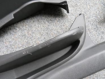 Verkleidungsteile Verkleidungen Säulenverkleidungen schwarz grau VW Tiguan 5N2 – Bild 2