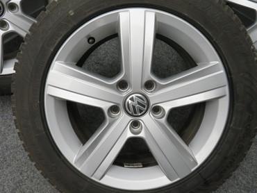 VW Golf 7 VII 5G Sportsvan 205/55R16 91H Alufelgen 5G0601025BN 6.5Jx16 Dover – Bild 2