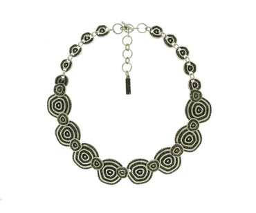 Collier im Altsilberlook - 1016-CO - nickelfrei