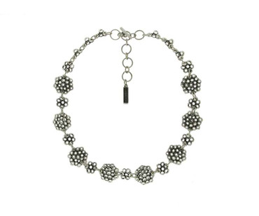 Collier im Altsilberlook - 1045-CO - nickelfrei