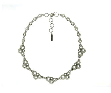 Collier im Altsilberlook - 1046-CO - nickelfrei