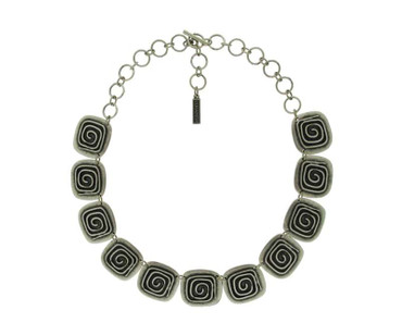Collier im Altsilberlook - 1056-CO - nickelfrei