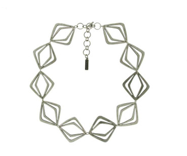 Collier im Altsilberlook - 1094-CO - nickelfrei