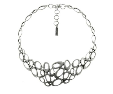Collier im Altsilberlook - 1096-CO - nickelfrei